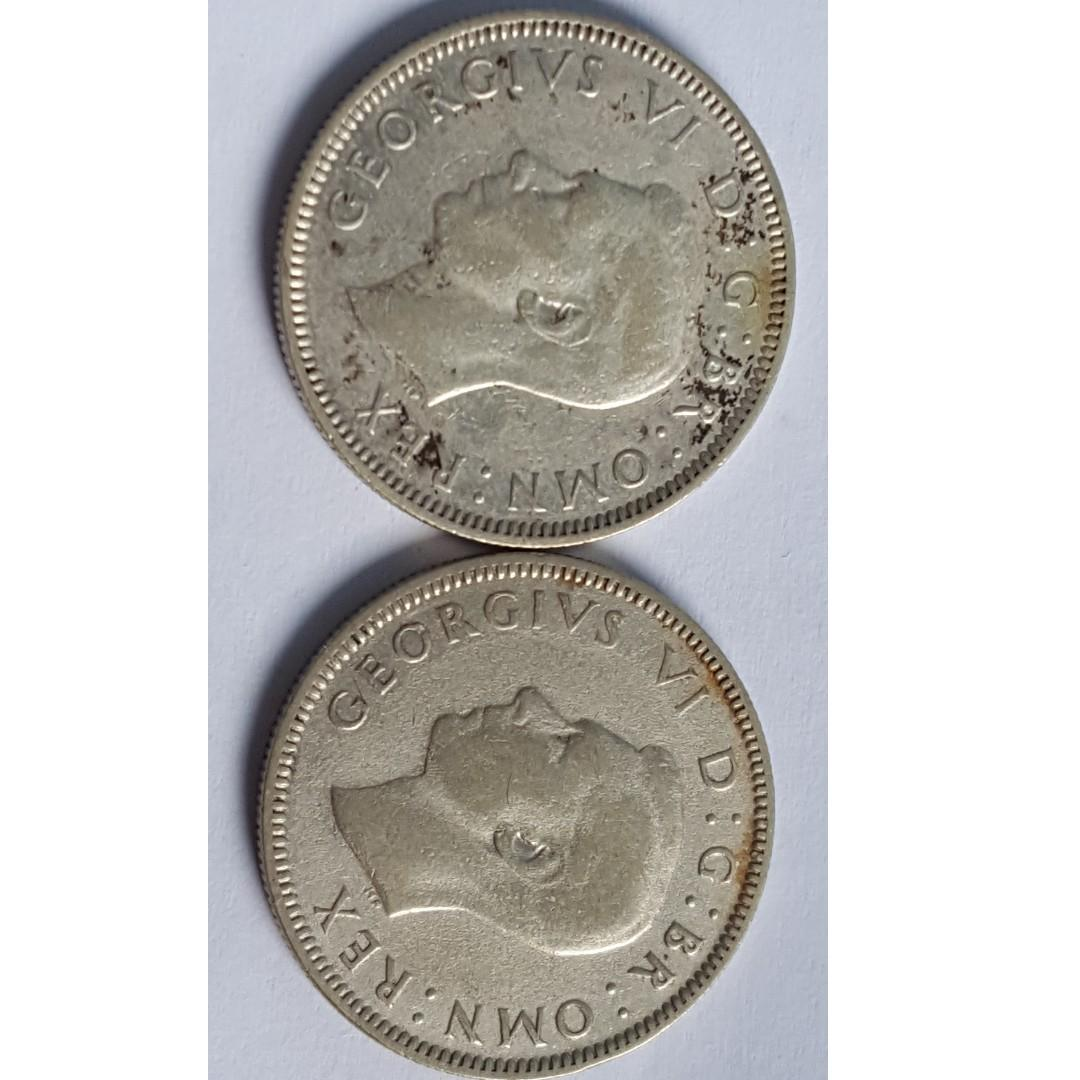 United Kingdom 1 shilling 1940, 1942