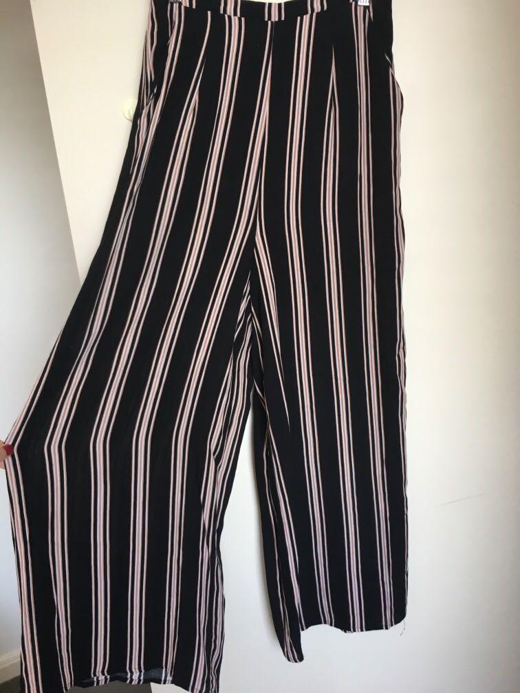 Universal Store Perfect Strangers Stripe Pants Culottes