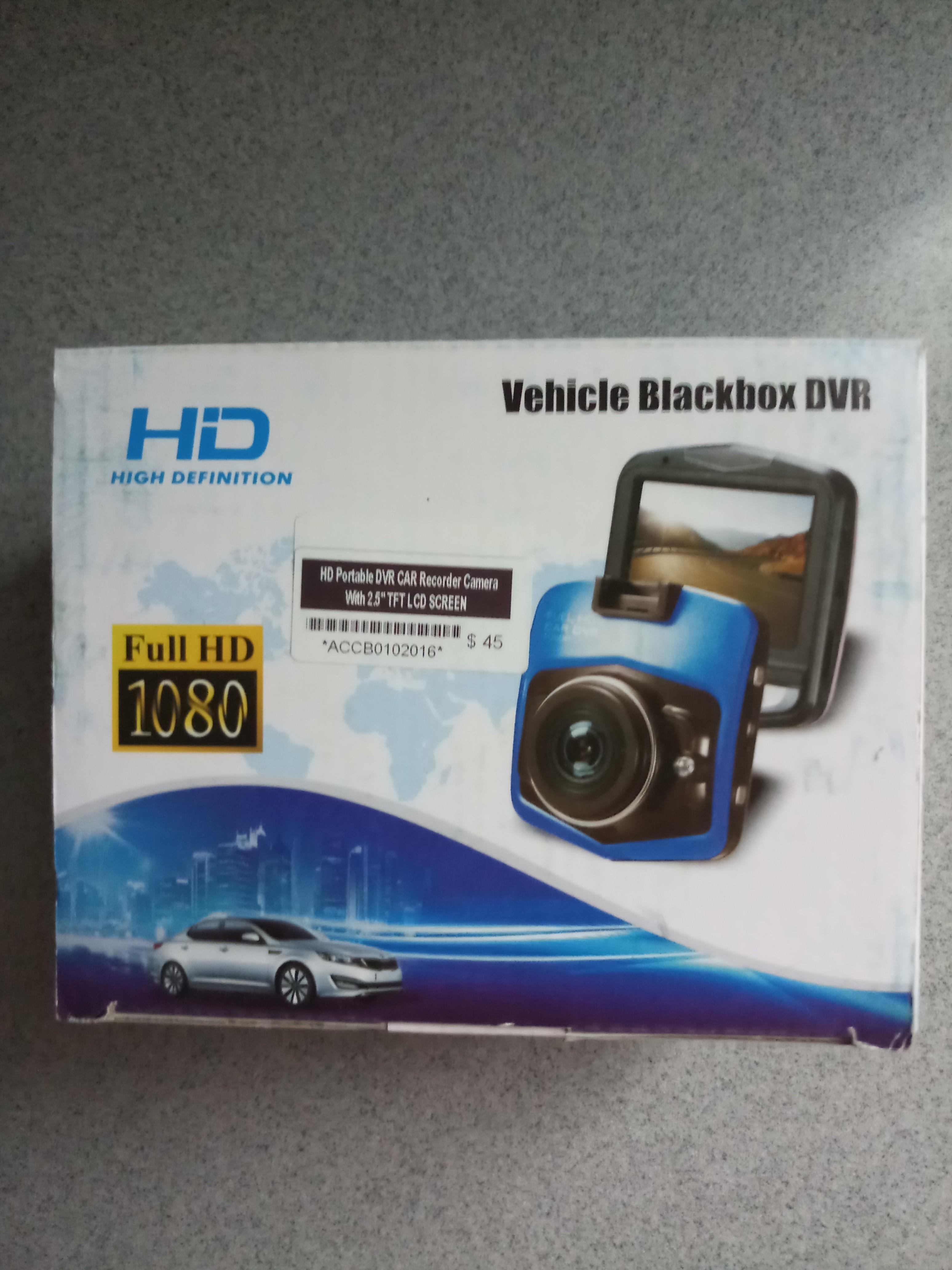 Vehicle Blackbox Dvr Car Video Camera Car Accessories