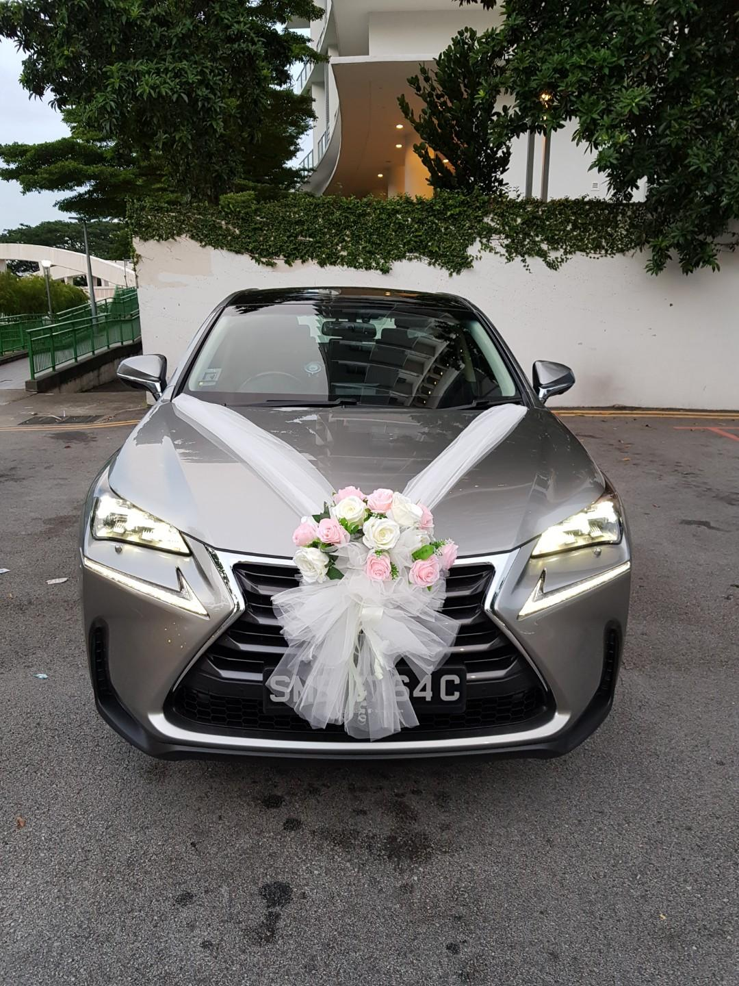 Wedding Car For Rent With Driver