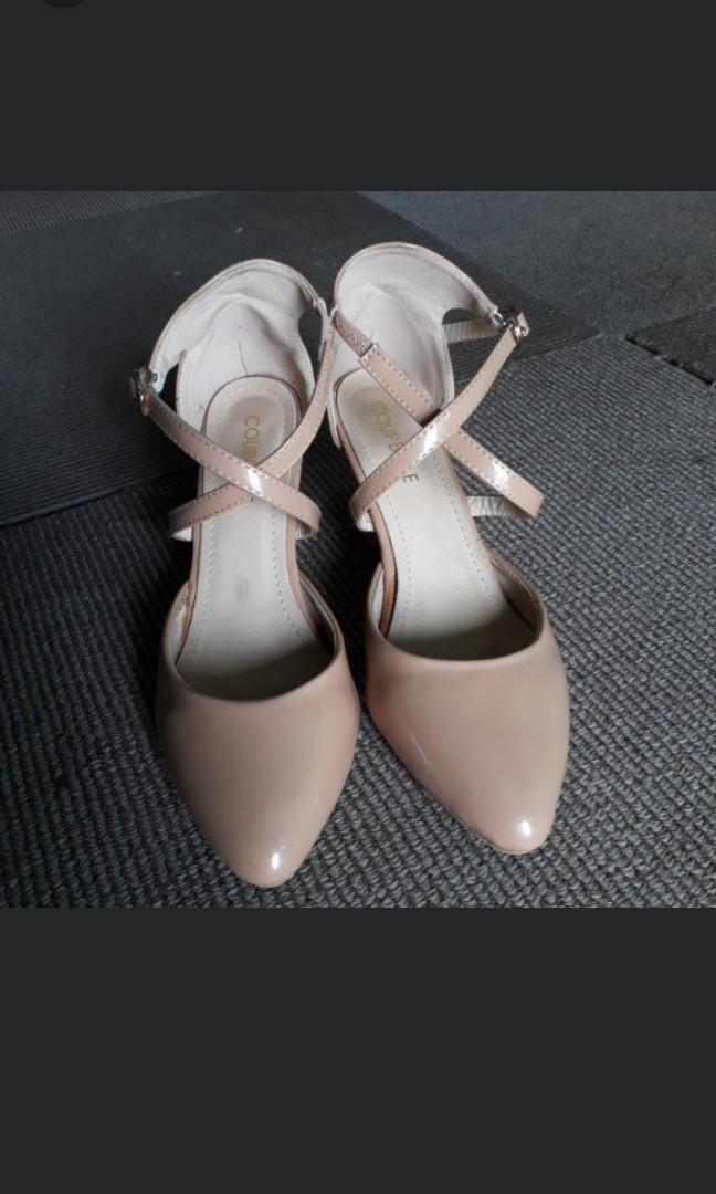 Wedges Nude size 36