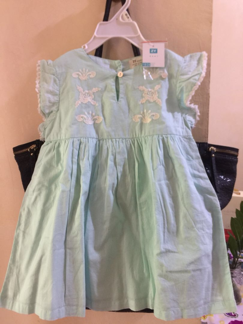 4f2ef0be5 ZY Baby Dress, Babies & Kids, Babies Apparel on Carousell
