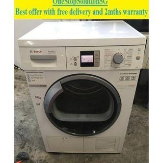 Bosch Serie 6 (8.0kg) Condenser Dryer ($450 + free delivery and 2mths warrranty)