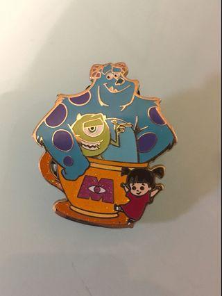 迪士尼怪獸公司襟章