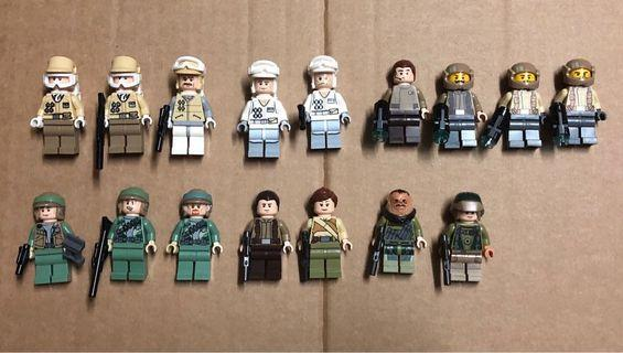 Lego Star Wars 8083, 9489, 9509, 75023, 75097, 75103, 75131, 75155 Rebel Trooper