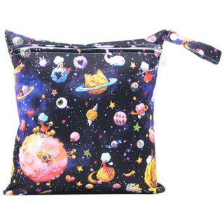 【YYB 91】L Size (30*28cm) Wetbag / Baby Diaper Wet Bag / Childcare Bag / Travel Bag