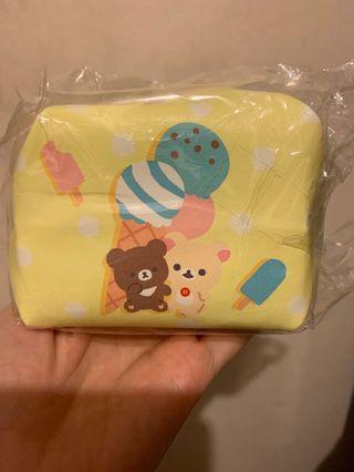 日本直送小熊朋友及白熊小物袋