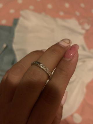 Sliver Tiffany Ring