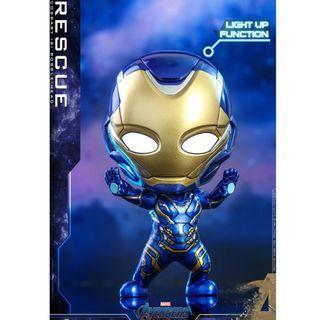 最後一個 HOTTOYS COSBABY ht Rescue Pepper Ironman cosbaby the avengers ironman