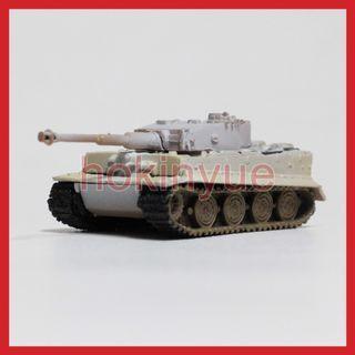 TAKARA WORLD TANK MUSEUM 01 散款#2 虎式雪地塗裝 WTM 坦克