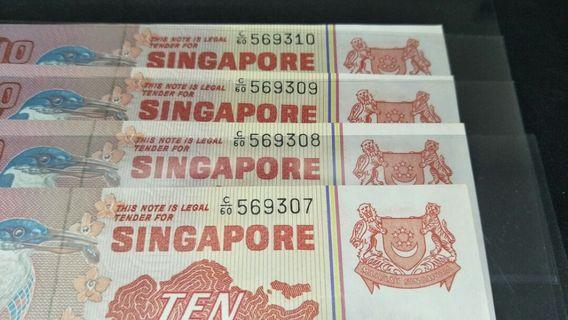 Singapore bird $10