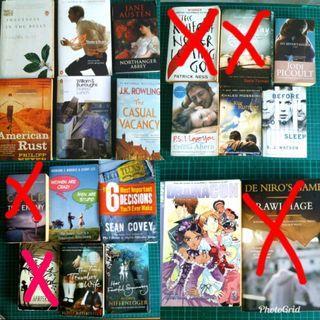 Fiction & Non Fiction Novels