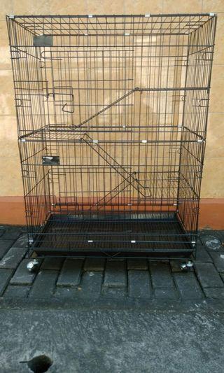 Kandang Kucing 1 meter