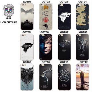🚚 [PO] GAME OF THRONES Iphone Case