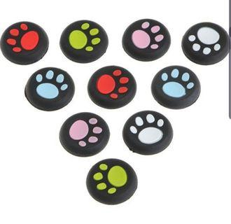 Paw Print Controller Thumbstick Silicone Cover