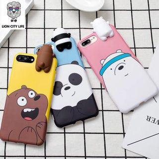 🚚 [PO] WE BARE BEARS iPhone Case ***FREE SHIPPING***