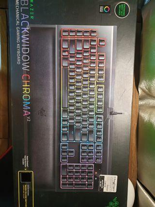 Razer blackwidow Chroma V2 (yellow switch)