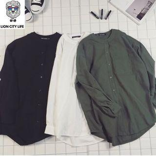 Loose Oversized Linen Collar shirts **FREE SHIPPING**