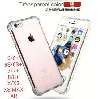 現貨透明 四角 氣墊空壓殼 壓克力 手機殼 蘋果 IPHONE 6/6S/7/8/PLUS/X/XS/XS MAX/XR