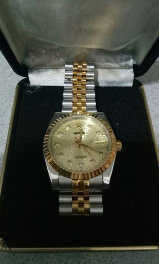 RL自动机械手表