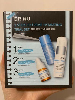 DR.WU 無限補水三步驟體驗組