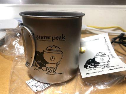 Snow peak line 聯名450MUG 鈦杯