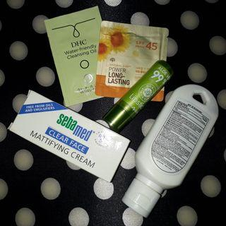 Assorted Skin Care & Lipstick