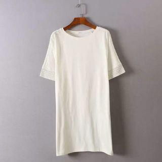 White Dress One piece 白色連身裙