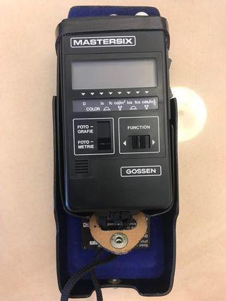 Gossen Mastersix light meter