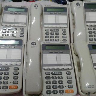 東訊電話總機系統含六台話機