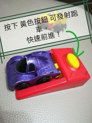 小朋友玩具迷你跑車x2+ 連發射器=$7