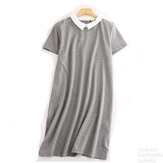 Grey one piece dress 斯文裙