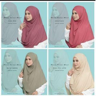 Instant shawl labuh
