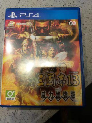 PS4 三國志13 威力加強版