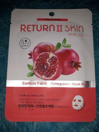 Masker Return II Skin