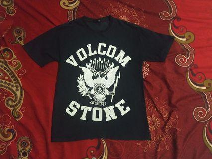 kaos t-shirt volcom stone original no bape supreme
