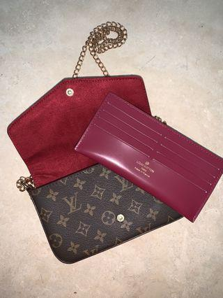 Louis Vuitton Clutch/Crossbody