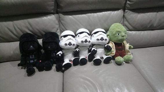 🚚 Star Wars Plushy soft toys