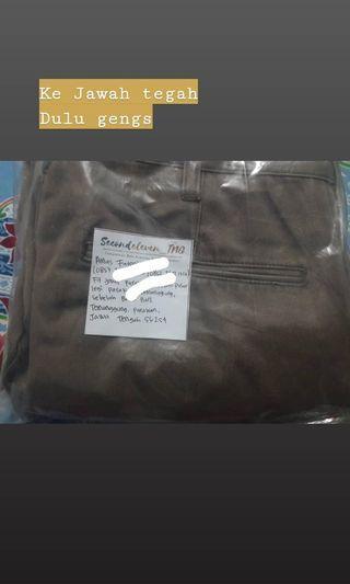 Celana Uniqlo pengiriman ke jateng