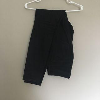 Gap High Waisted Black Skinny Jeans