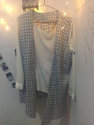 Baju rompi sekaligus inner gabung