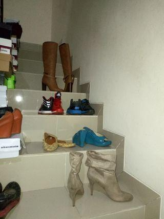 Our own preloved & new shoes garage sale