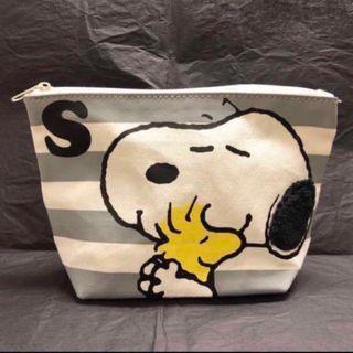 別注版 Snoopy & Woodstock 史諾比 化妝袋 小物袋 收納袋 多用途袋 Cosmetic bag / Pouch / Storage bag / Multi-purpose bag  #MTRtst