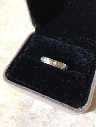 925純銀碎石戒指