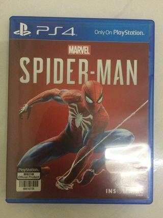 SpiderMan PS4 games