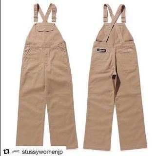 日線STUSSY WOMEN 聯名款吊帶褲 DICKIES