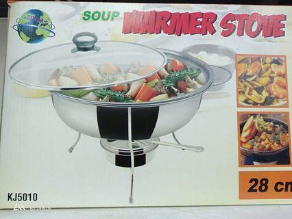 Soup warmer stove