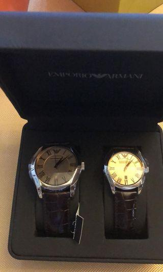 Authentic Emporio Armani Watch for couples/ Michael Kors Watches