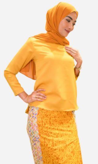 Baju kurung modern batik (Chempaka)