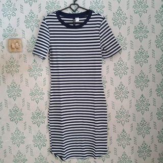 Stripe Dress H&M